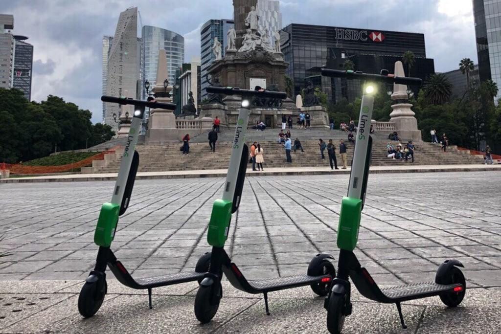 """Le service de trottinettes en libre service """"Lime"""" - Ici à Mexico"""