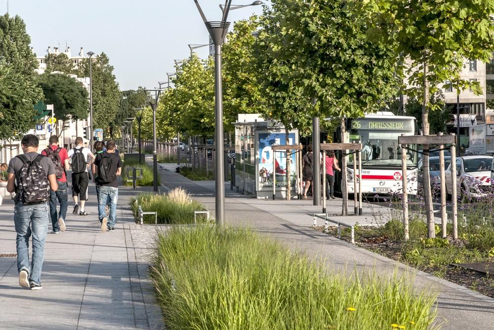 Réaménagement de l'Avenue Mermoz - Lyon - Gautier CONQUET