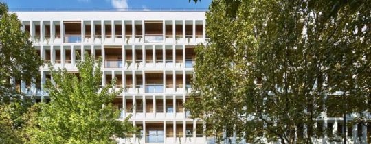 Des bureaux transformés en logements - Charenton le Pont - Moatti/Rivière - ©Michel Denancé