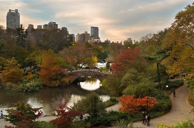 Central Park Sunset - Flickr - @Cameron B